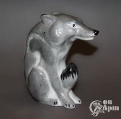 "Скульптура ""Волк"""